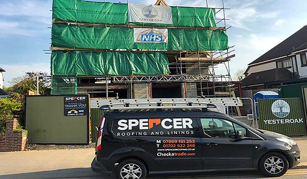 Spencer Roofing And Linings Roofing Services Flat Roofing Industrial Cladding Felt Free Estimates Liquid Water Proofing Southend Essex 4